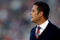 Head coach Mike Petke of Real Salt Lake
