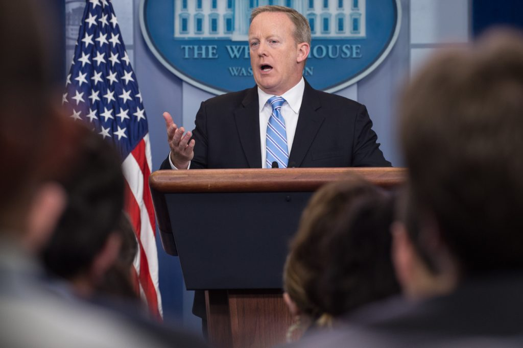 Sean Spicer wants Jesus to help him win Dancing with the Stars