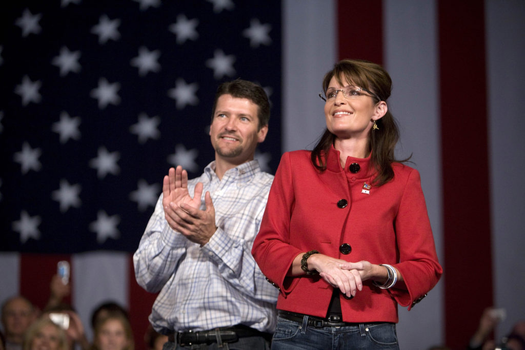 Sarah Palin, who doesn't believe in marriage equality, is getting divorced