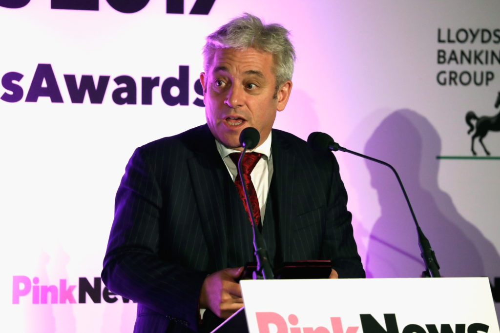UK Parliament speaker John Bercow says will step down by Oct 31