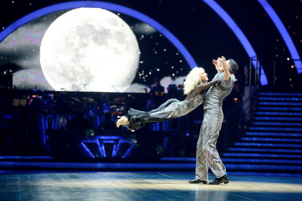 Debbie McGee and Giovanni Pernice attend the 'Strictly Come Dancing' Live! dress rehearsal. (Dave J Hogan/Dave J Hogan/Getty Images)