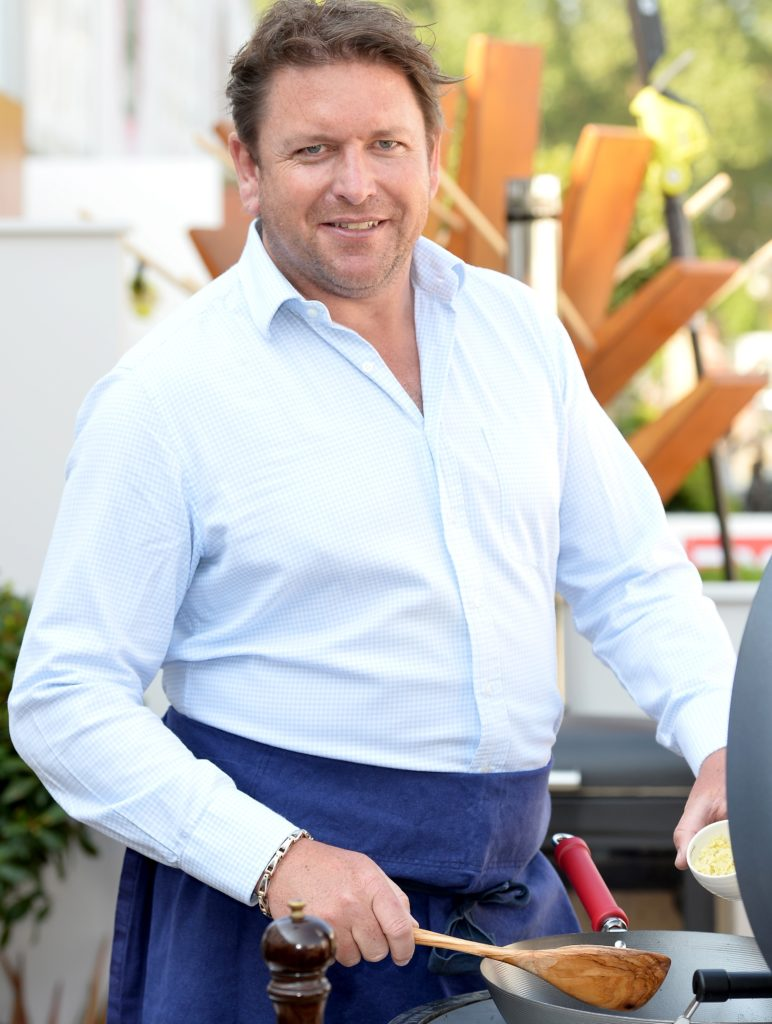 Chef James Martin attends the Chelsea Flower Show 2018 on May 21, 2018