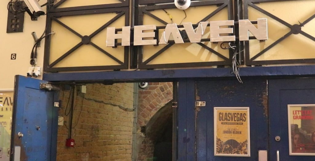 Heaven nightclub will be opened as a wedding venue