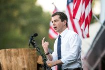 Democratic presidential candidate, Mayor of South Bend, Indiana Pete Buttigieg