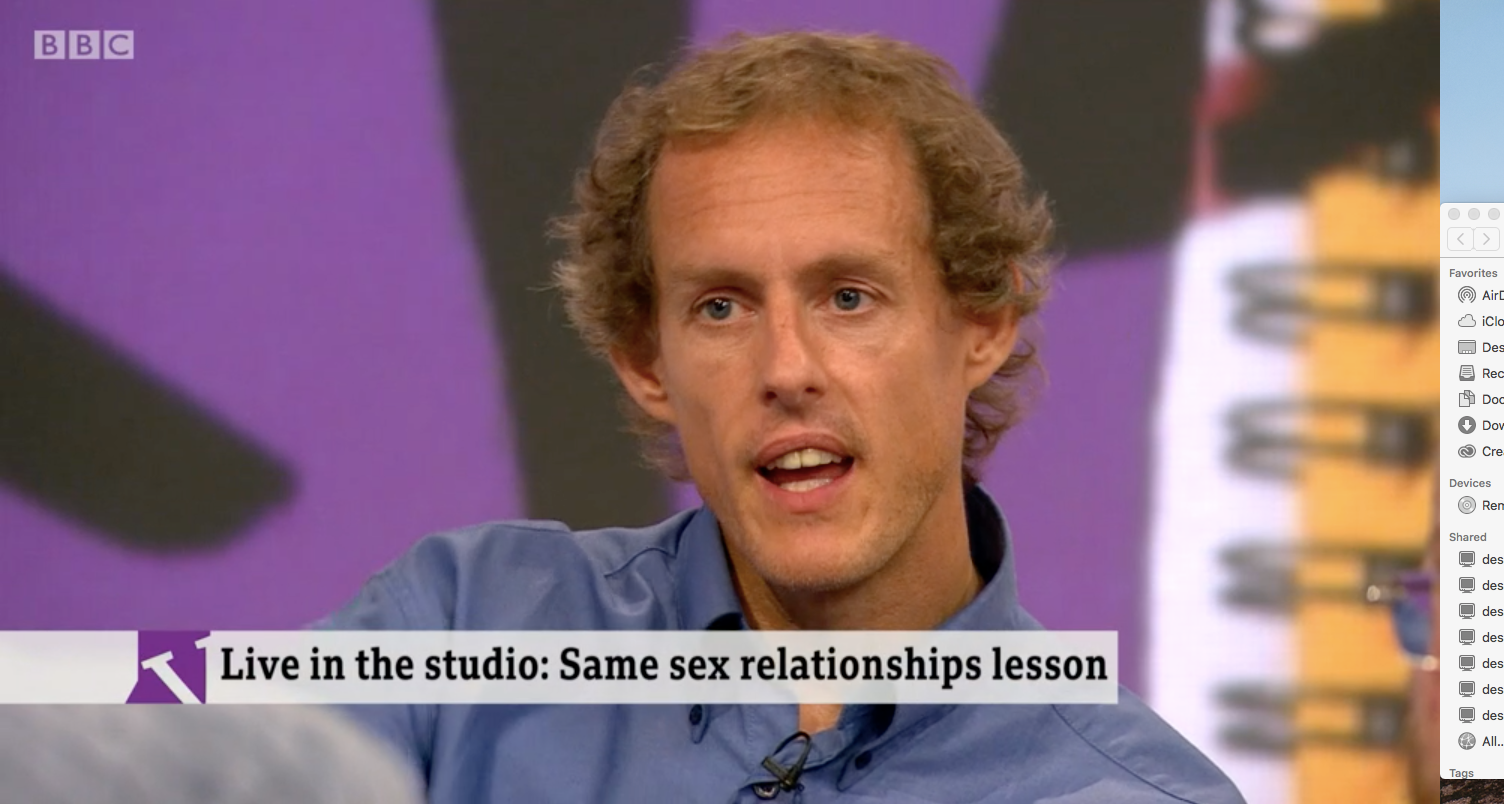 Christian parent Nigel Rowe opposes LGBT-inclusive education in schools (BBC)