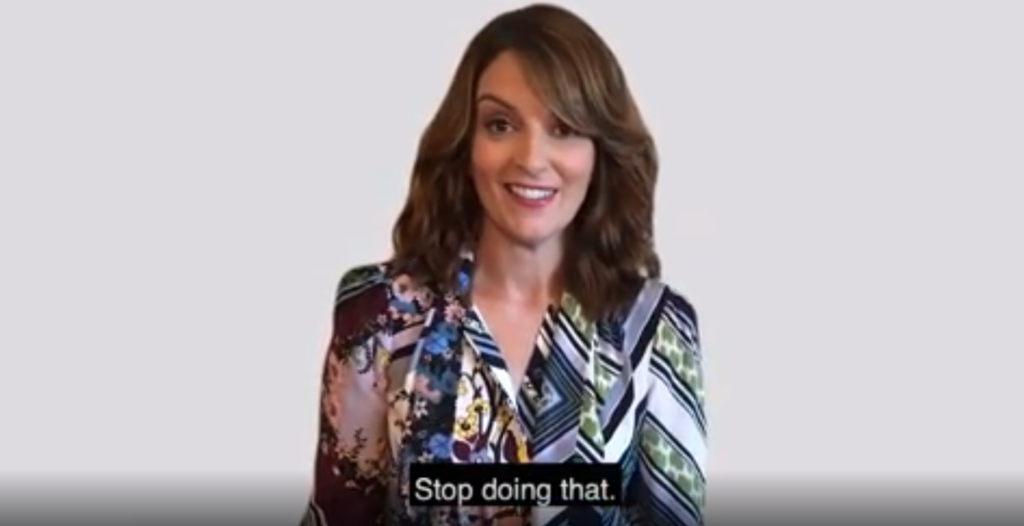 Tina Fey has a really amazing idea: Stop insulting gay people at football games