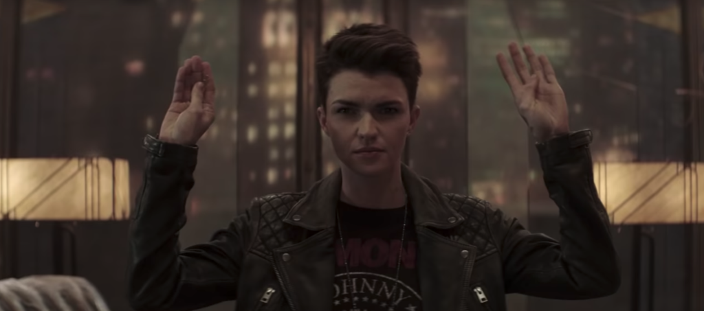 Ruby Rose doesn't want to be known as a 'lesbian actor'