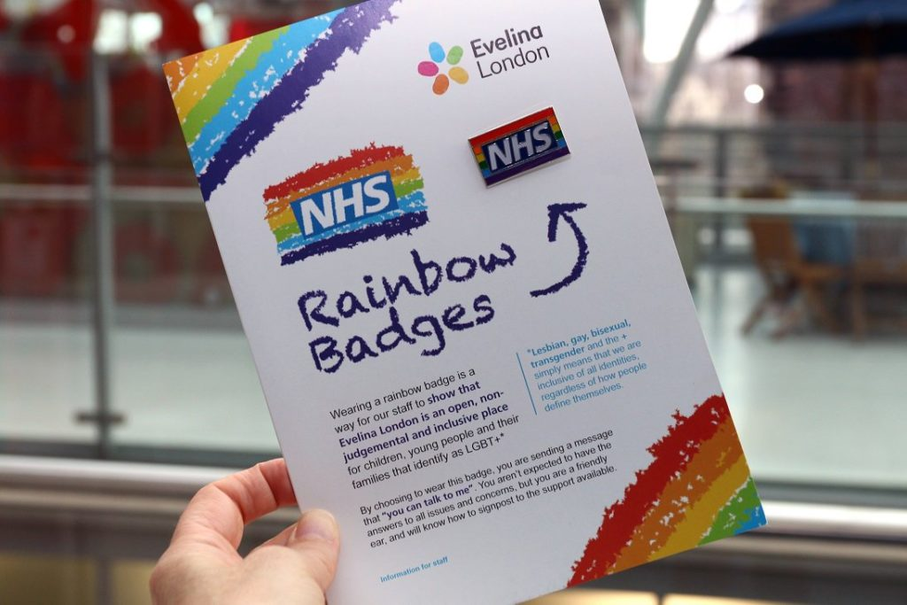Mumsnet users really don't like the NHS LGBT+ rainbow badges
