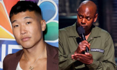 Joel Kim Booster and Dave Chappelle