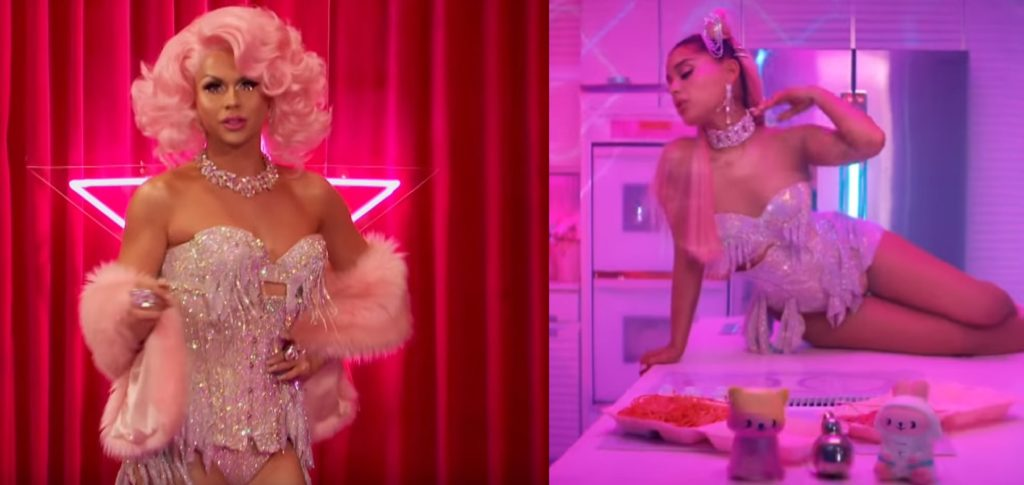 Ariana Grande has not responded to claims that she copied the Drag Race star's outfit
