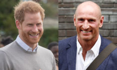 Prince Harry and Gareth Thomas