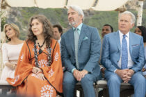 Jane Fonda, Lily Tomlin, Sam Waterson and Martin Sheen in Grace And Frankie