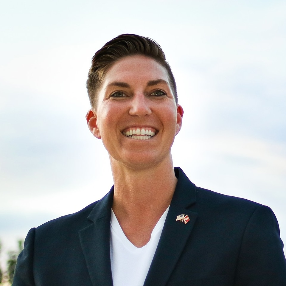Janessa Goldbeck is a queer, pro-gun military veteran