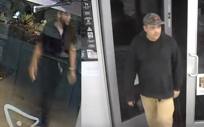 Las Vegas Metropolitan Police Department is seeking two men in connection with the incident