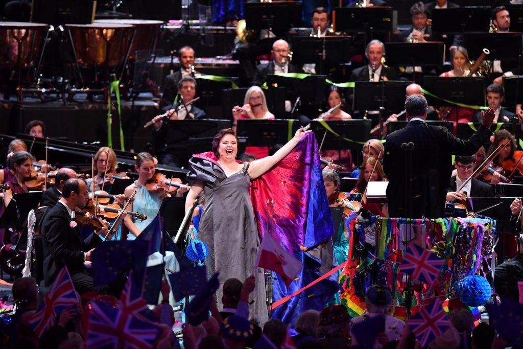 Last Night of the Proms review: How Jamie Barton went over the rainbow in a night of LGBT+ pride and diversity
