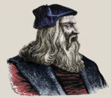 15th century comic strip reveals Leonardo da Vinci was mocked for being gay