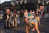 Queer activists joined the climate change protest