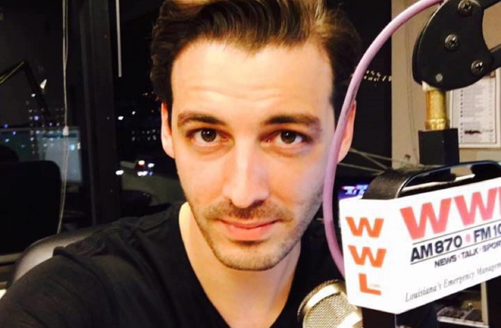 WWL host Seth Dunlap denies sending the tweet about himself