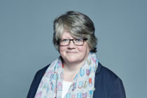Therese Coffey has been promoted to the Cabinet, replacing Amber Rudd
