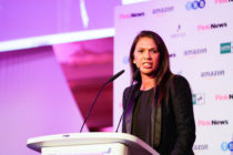 Gina Miller at the PinkNews awards 2019