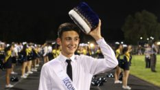 Anthony Arnoni, once terrified to come out as gay in fear of what classmates would think, was crowned homecoming king this school year by his school. (Instagram/Sophia Khudyk)