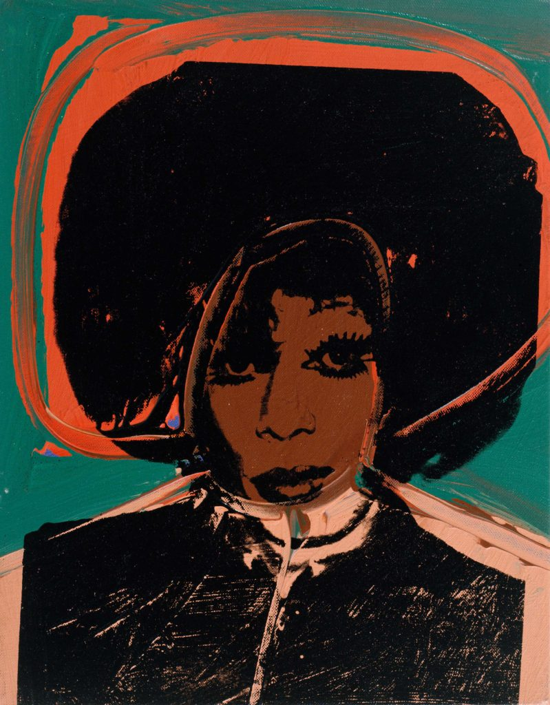 'Helen/Harry Morales', part of 'Ladies and Gentleman' series by American pop artist Andy Warhol. (The Andy Warhol Foundation for the Visual Arts, Inc / Artists Right Society (ARS), New York and DACS, London)