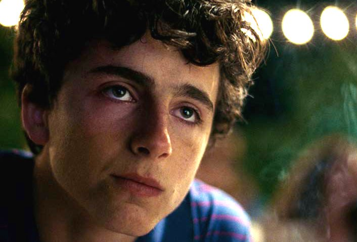 Elio in Call Me By Your Name