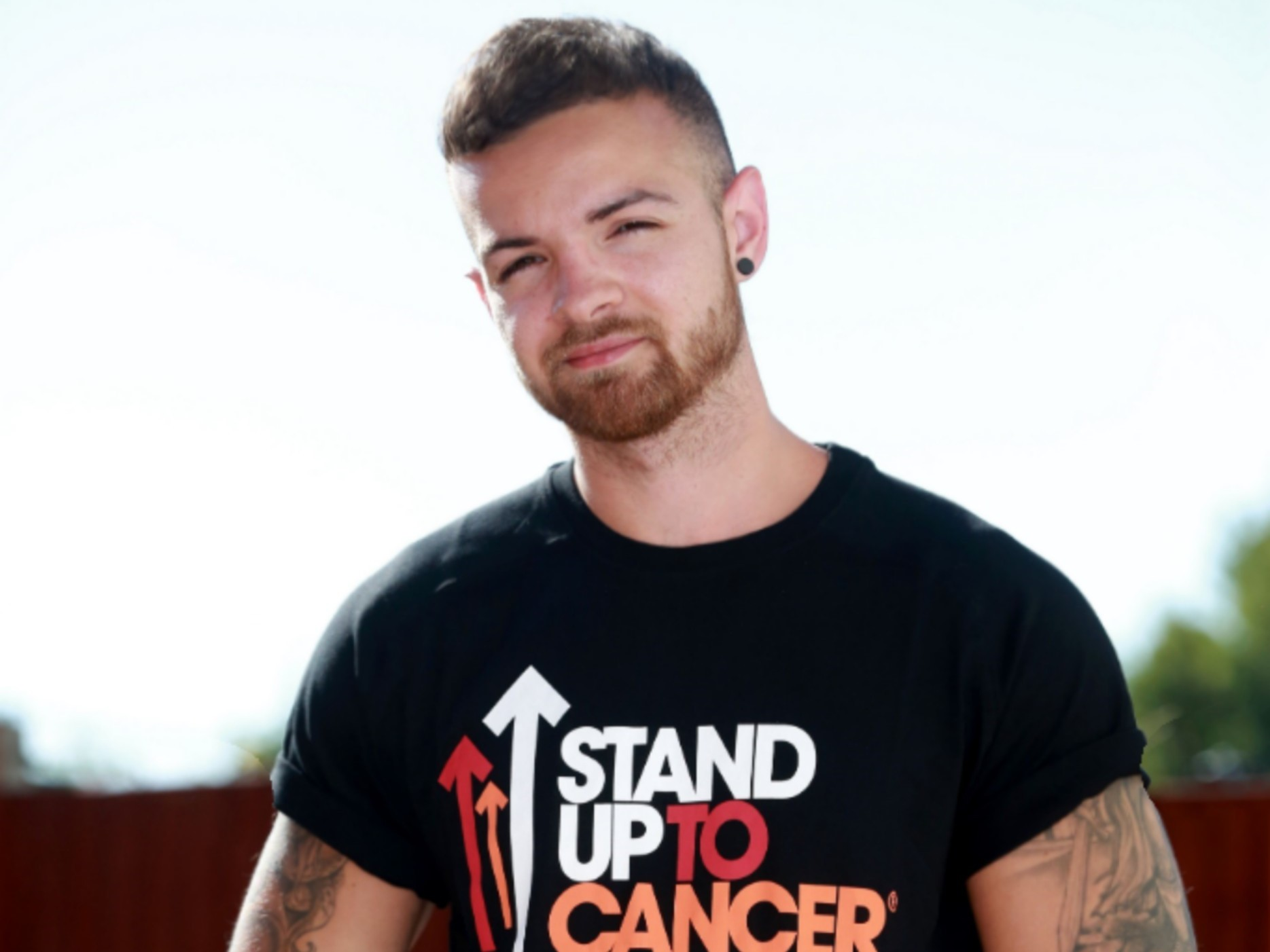 Connor Cunningham-Bladon, who was diagnosed with bladder cancer