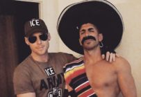 A gay couple have come under intense fire for their Halloween costume, where one is dressed as an ICE officer and the other in stereotypical Mexican tropes. (Twitter)