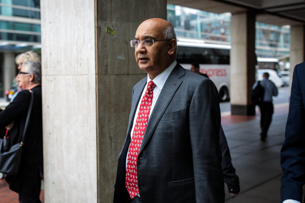 Labour MP Keith Vaz claims he has suffered amnesia about the incident