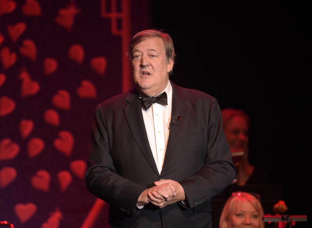 Stephen Fry. (Mike Marsland/Mike Marsland/Getty Images for SeriousFun)