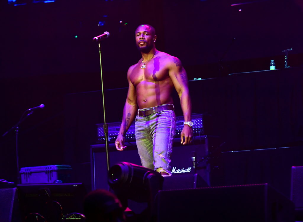 Singer Tank performs at V103 Winterfest at State Farm Arena on December 15, 2018 in Atlanta, Georgia.