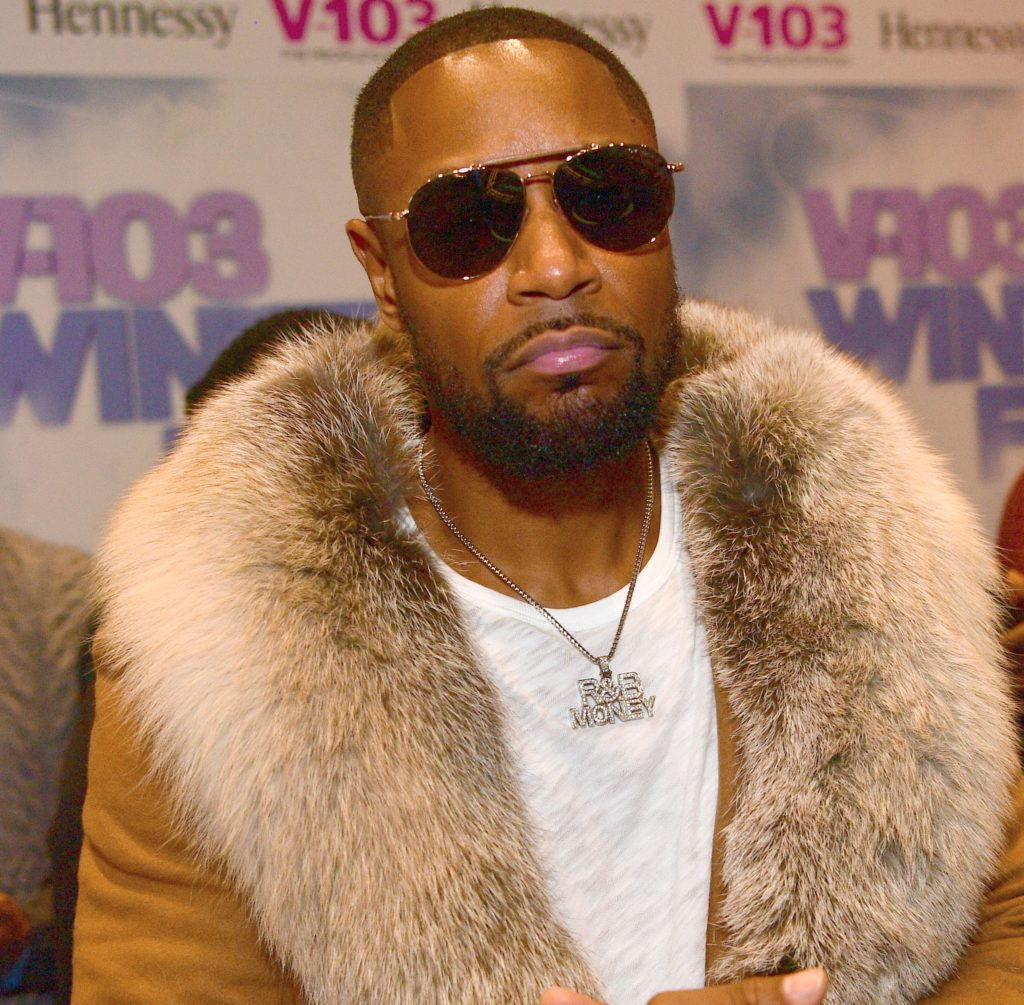 Singer Tank attends V103 Winterfest at State Farm Arena on December 15, 2018 in Atlanta, Georgia.