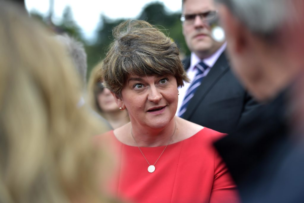 If Arlene Foster complains about same-sex marriage, just remind her of this