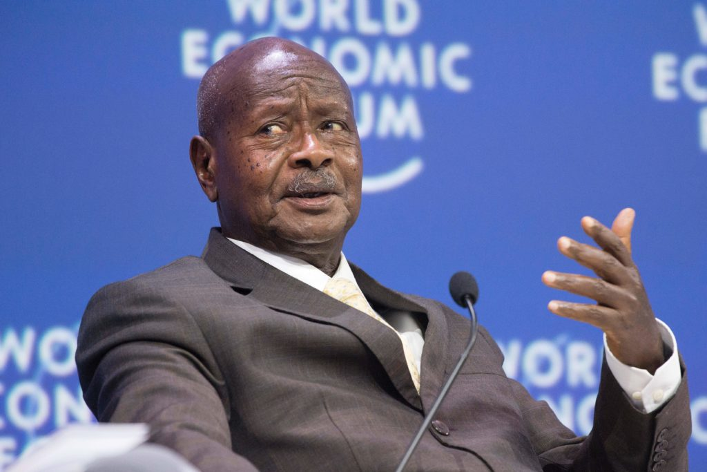 Yoweri Museveni, who has been president of Uganda since 1986. (RODGER BOSCH/AFP/Getty Images)
