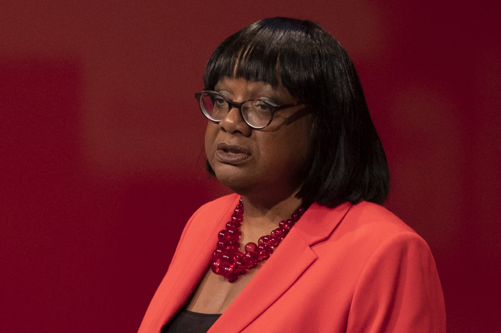 Labour's Diane Abbott slams people who use religion as an excuse for homophobia at PinkNews Awards