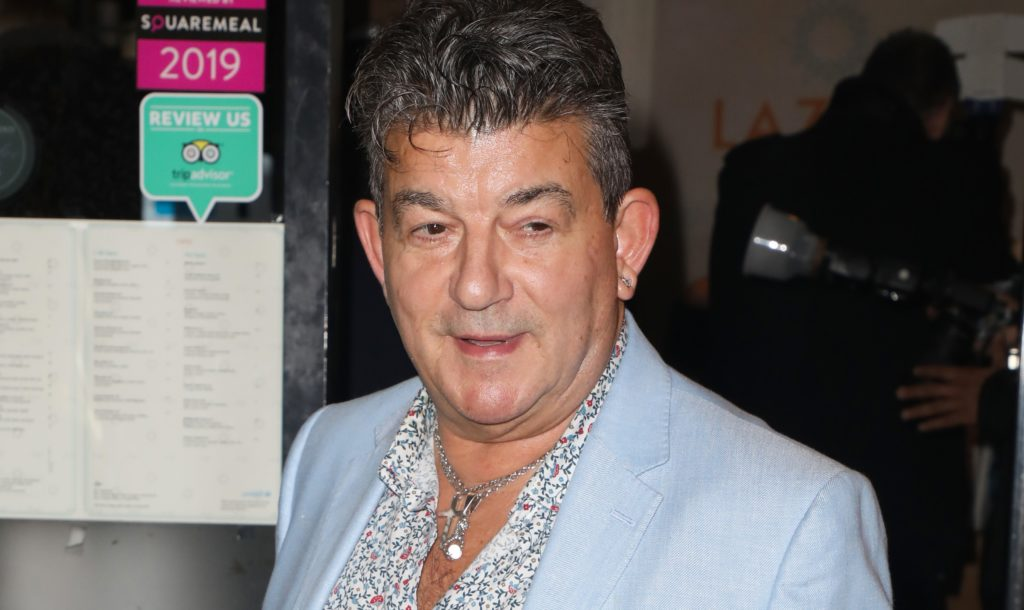 John Altman attends the launch party for the new Winter Terrace at Lazeez Tapas Mayfair restaurant in London.
