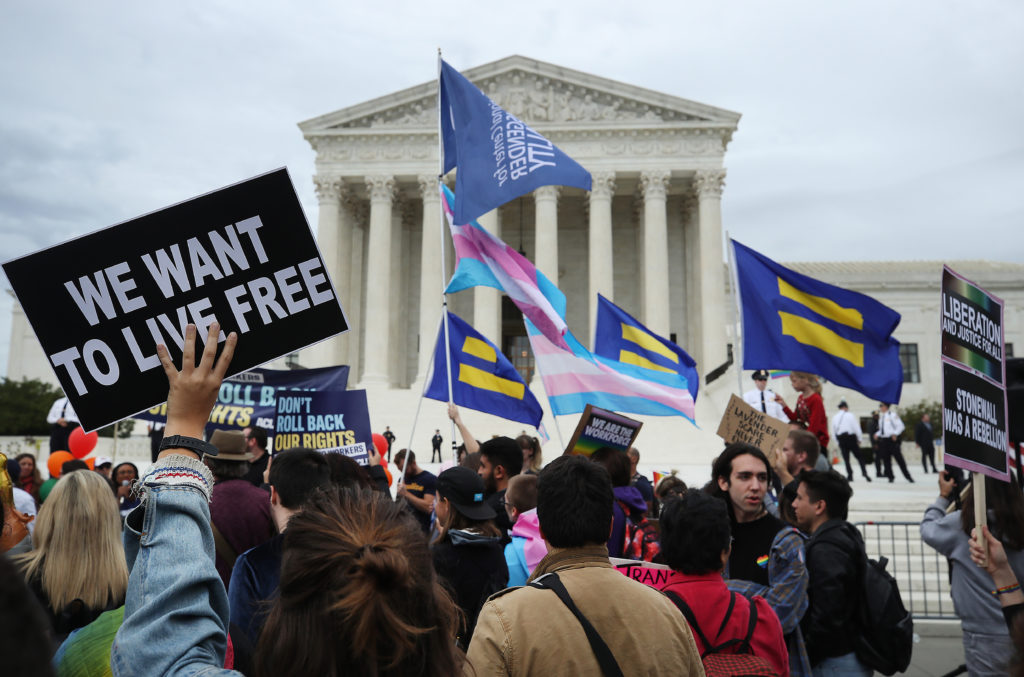 Bathrooms came up 51 times during Supreme Court LGBT hearings