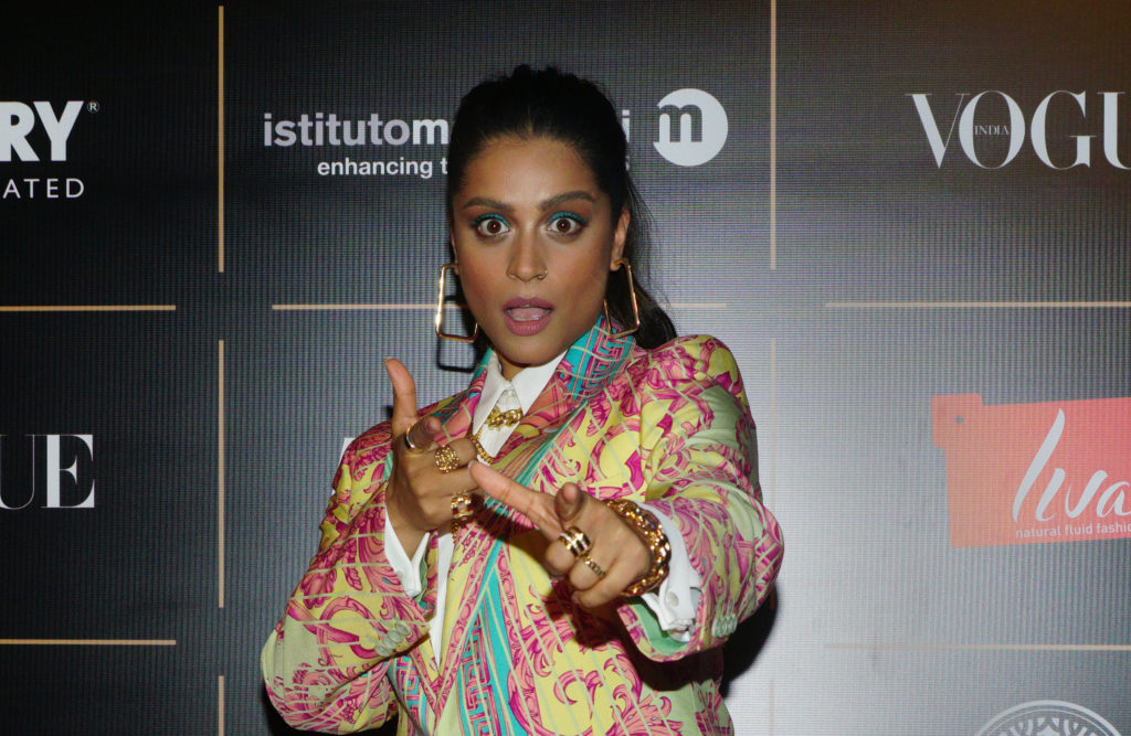 Actress Lilly Singh attend the Vogue Women of the Year on October 19, 2019 in Mumbai, India. (Prodip Guha/Getty Images)