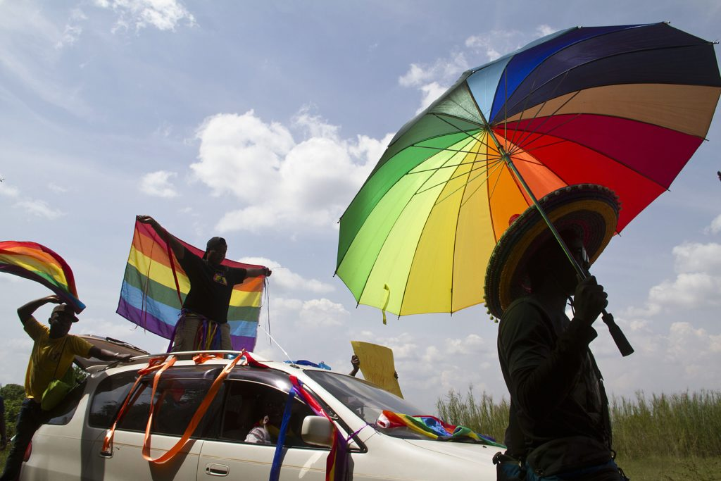 Uganda is one of around 70 countries where being gay is punishable by imprisonment. (ISAAC KASAMANI/AFP via Getty Images)
