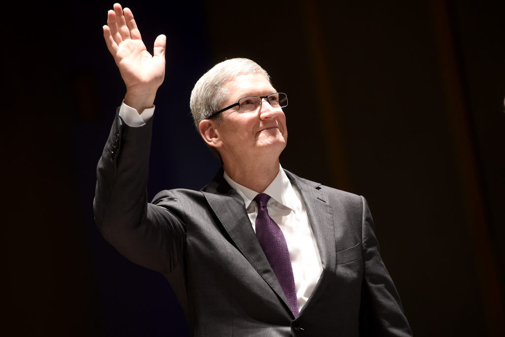 Apple CEO Tim Cook. (Jacopo Raule/Getty Images)