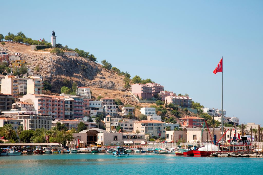 Asia, Turkey, Southern Aegean Coast, Kusadasi, City View. (Marka/Universal Images Group via Getty Images)