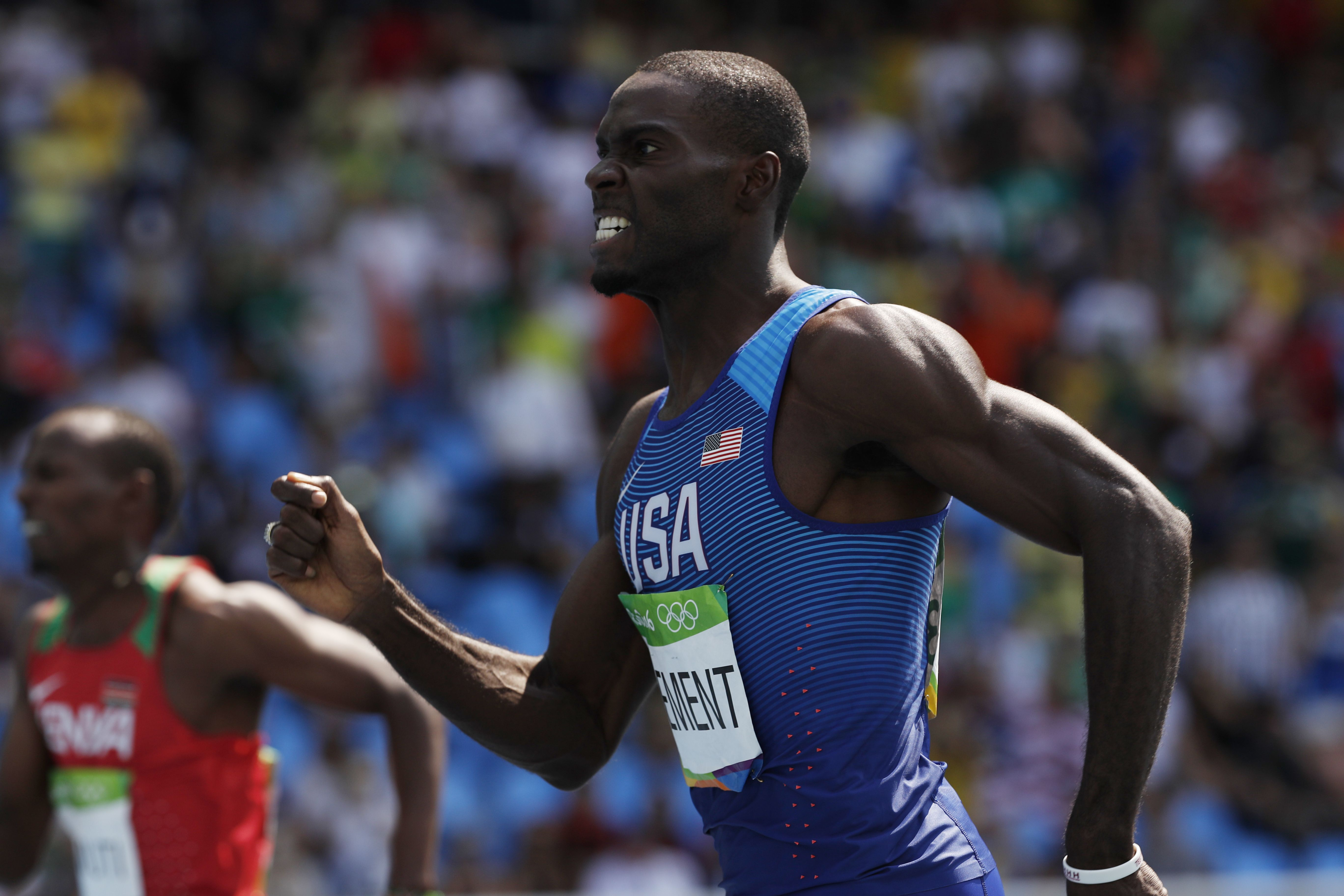 Olympic Champion Kerron Clement