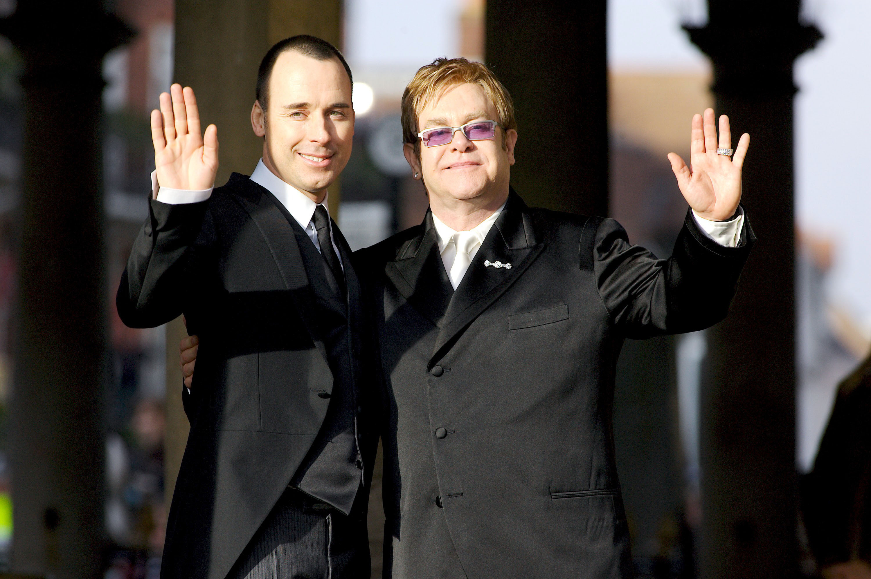 Sir Elton John and David Furnish's Civil Partnership Ceremony
