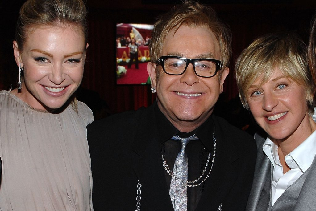Elton John defends Ellen DeGeneres over friendship with George W Bush