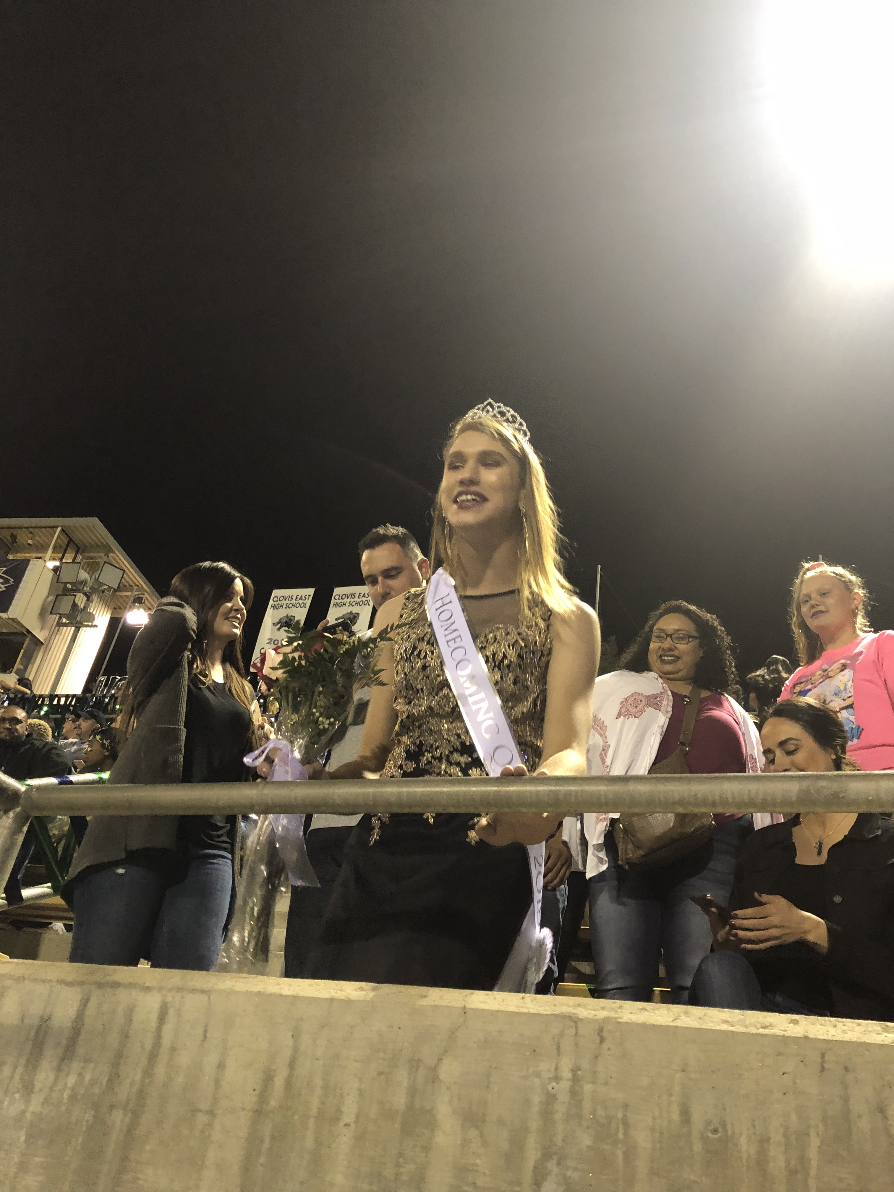 non-binary homecoming queen