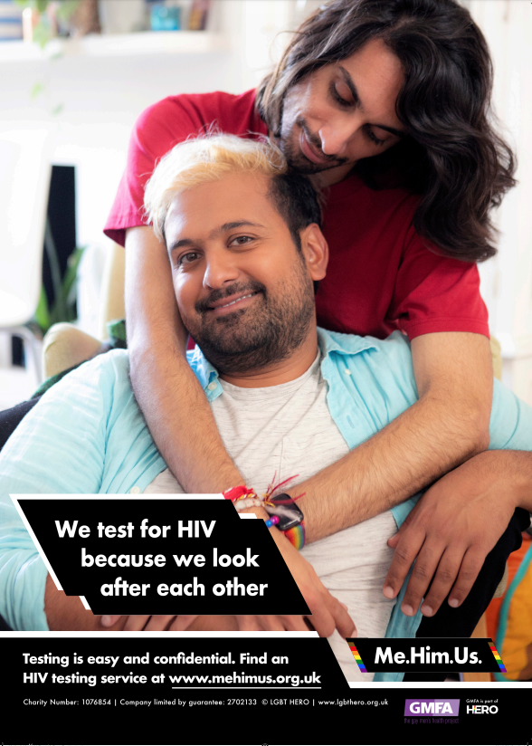 GMFA: New campaign encourages South Asian men to get tested for HIV