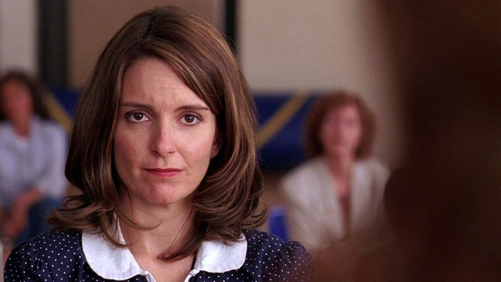 Tina Fey as Ms. Norbury in Mean Girls. (Mean Girs/IMDb)