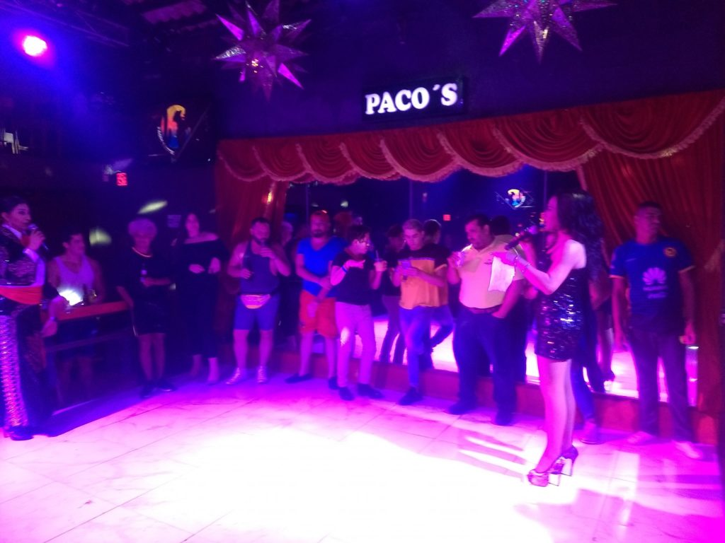 The best place for drag shows (Paco's Ranch)