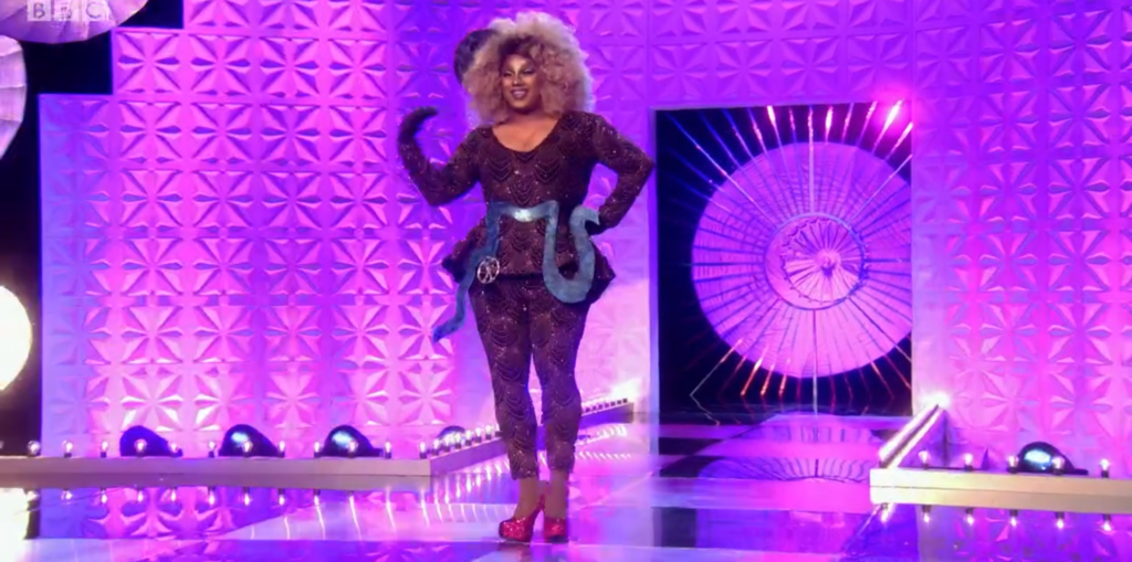 Vinegar Strokes' London hometown look on RuPaul's Drag Race UK